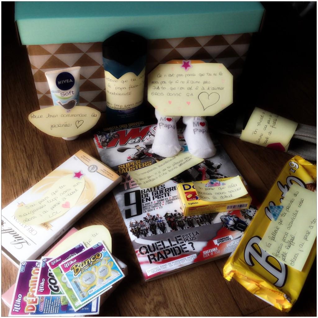 Ma box surprise futur PAPA pour mon MisterJ ❤ - Une Fille 3.0