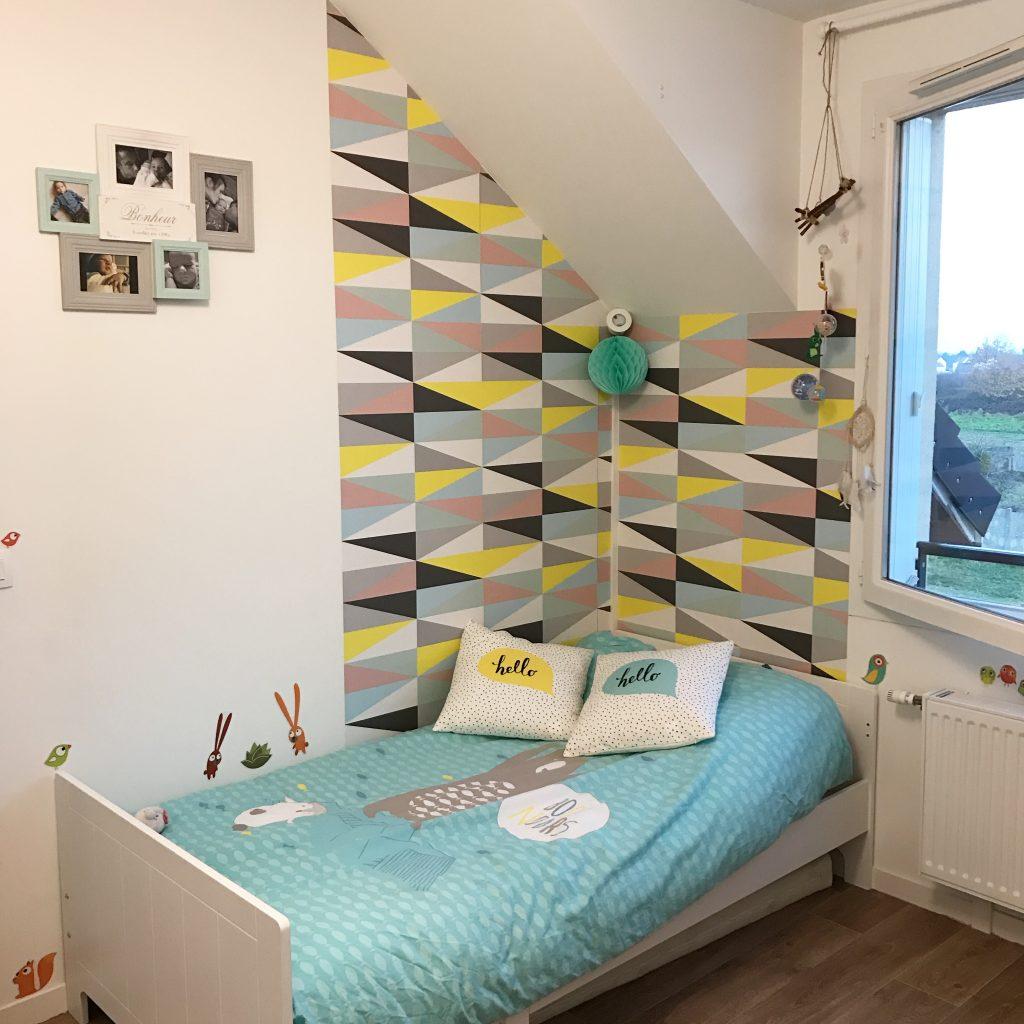 id es d co pour la chambre d 39 un enfant de 2 ans une. Black Bedroom Furniture Sets. Home Design Ideas